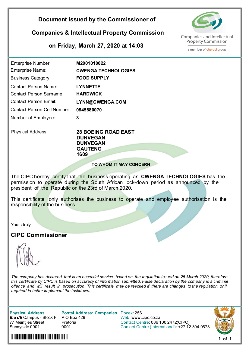 CIPC certificate for Cwenga.png